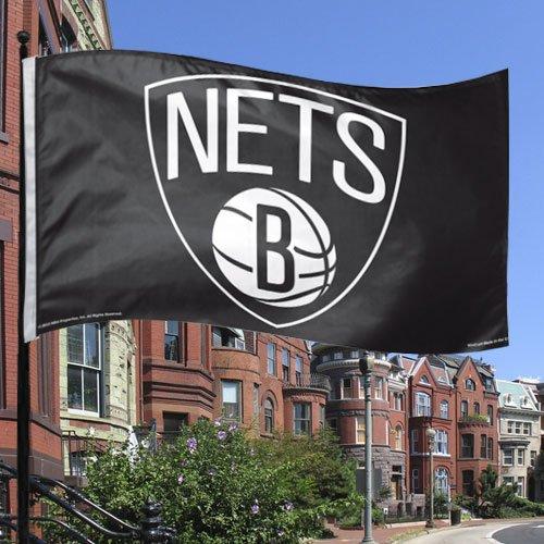 NBA Brooklyn Nets 3-by-5-Foot Flag