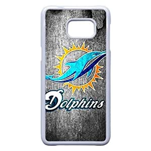 Samsung Galaxy S6 Edge Plus Cover , Miami Dolphins Cell phone case White for Samsung Galaxy S6 Edge Plus - KS888-123980