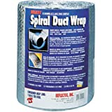 heat duct insulation - Reflectix DW1202504 Spiral Duct Wrap