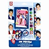 one direction bag - The Home Fusion Company One Direction Stationery Pencil & Eraser Set Party Loot Bag Fillers Stocking Gift