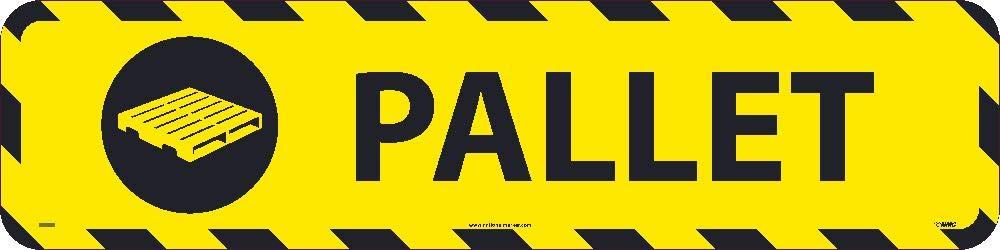 NMC WFS47 Pallet Walk On Sign