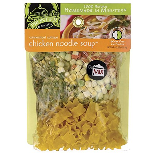 - Frontier Soups Homemade In Minutes Soup Mix, Connecticut Cottage Chicken Noodle, 4.25 Ounce