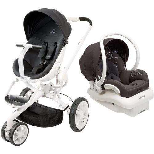 Quinny Moodd Travel System, Black Irony
