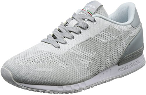 Weave Titan Diadora Sneaker Uomo Roccia Bianco 75041 Grigio SUHw8qR