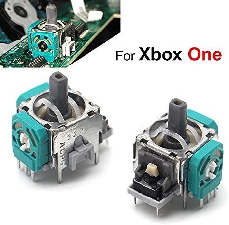 ALPS - Juego de 2 joysticks 3D para Xbox One Caps con Sensor de Pulgar y módulo analógico de Repuesto para Xbox One Controller Case: Amazon.es: Electrónica