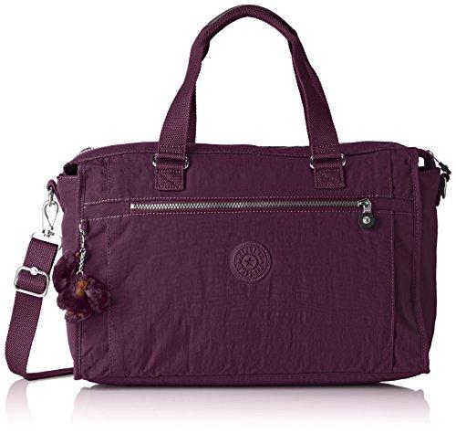 40 Tote Kipling Donna Taglia Centimeters De Purple plum Viaggio Pauline Liters Viola Unica Purple 20 77qrvgw5