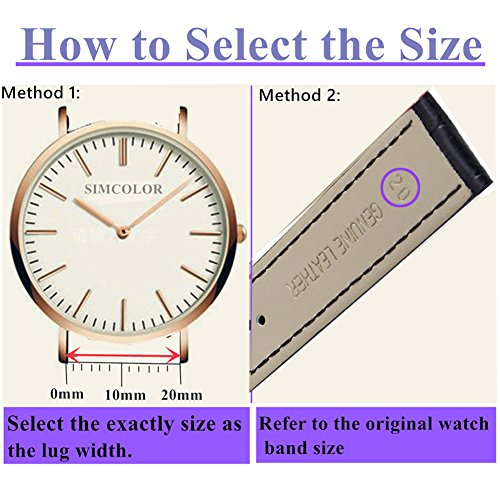 Quick-Release-Leather-Watch-BandsOWNITOW-Genuine-Leather-Watch-Straps-14mm16mm17mm18mm19mm20mm21mm22mm-or-24mm