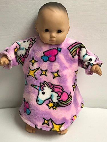 Amazoncom American Girl 15 Bitty Baby Unicorn Nightgown Handmade