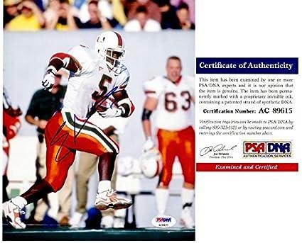 low priced ba2b3 88fd8 Amazon.com: Edgerrin James Autographed Signed Miami ...