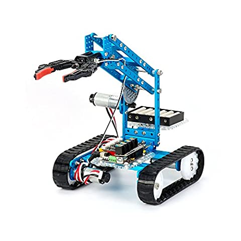 Makeblock DIY Ultimate Robot Kit - Premium Quality - 10-in-1 Robot - STEM Education - Arduino - Scratch 2.0 - Programmable Robot Kit for Kids to Learn Coding, Robotics and - One Stem