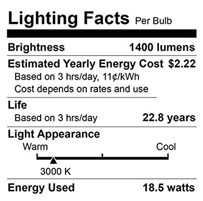 Euri Lighting EP38-4001cecw-2 LED PAR38 Bulb