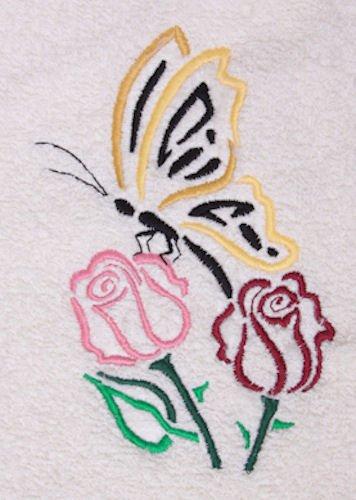 Butterfly Bath Towel - 9