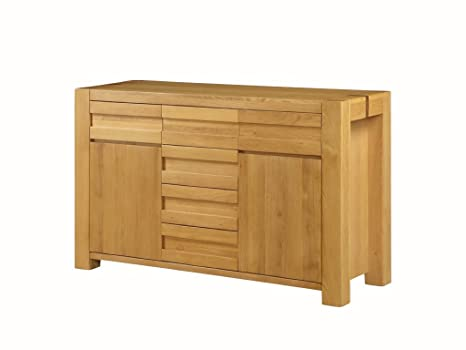 Credenza Per Corridoio : The one fresco oak credenza in legno cassetti e ante