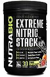 NutraBio Extreme Nitric Stack (Blood Orange) - 571 Grams