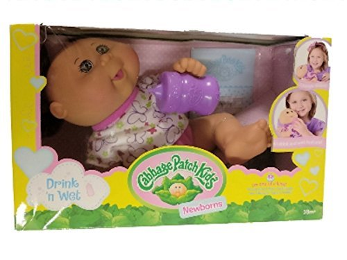 Cabbage Patch Kids Drink 'n Wet Newborn White Butterflies by Wicked Cool