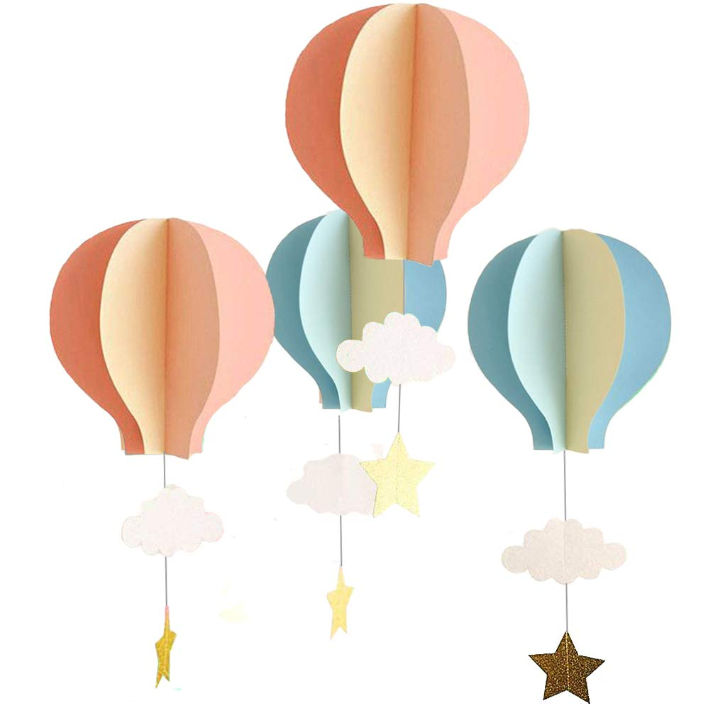 3d hot air balloon decorations