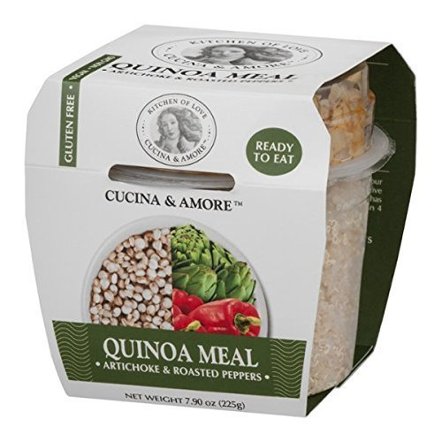 Cucina & Amore Quinoa Meal Artichoke & Roasted Pepper 7.9oz, Pack of 6
