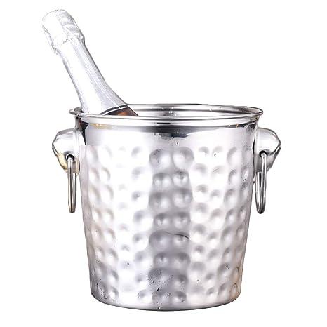 Compra YZBT-ice bucket Acero Inoxidable Cubitera, Asa de ...