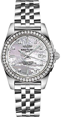 Breitling Galactic 32 Sleek Edition Womens Watch A7133053/A801-792A