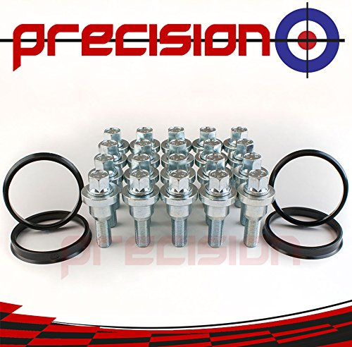 Precision 4-Wheel Conversion Kit for Fitting Range Rover Alloy Wheels to ṾW Transporter T5