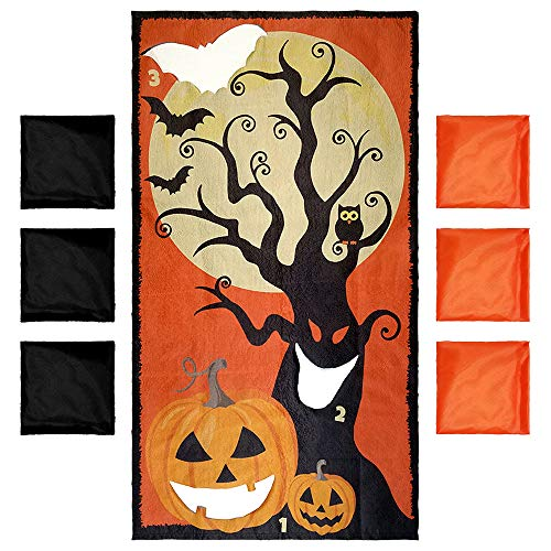 Key Largo Traders Halloween Games - BeanBag Party Toss Game For Kids - Fall Or Harvest Festival Game