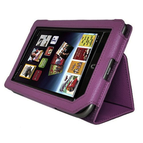 AGPtek Leather Barnes Tablet Purple product image