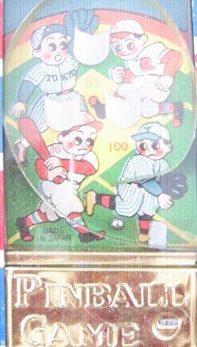 Baseball Pinball vintage 1950's handheld