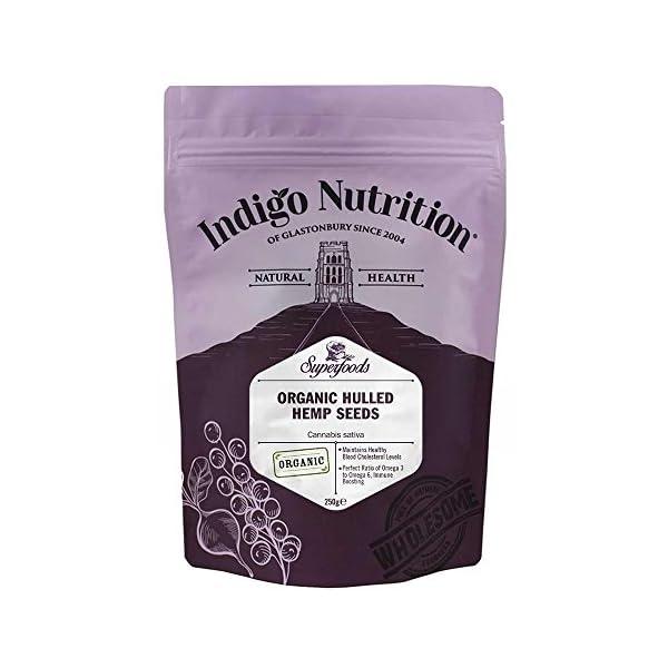 Indigo Herbs Organic Hulled Hemp Seeds 250g