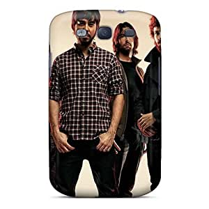 Durable Hard Phone Covers For Samsung Galaxy S3 (JGR16677ioQk) Provide Private Custom Vivid Linkin Park Image