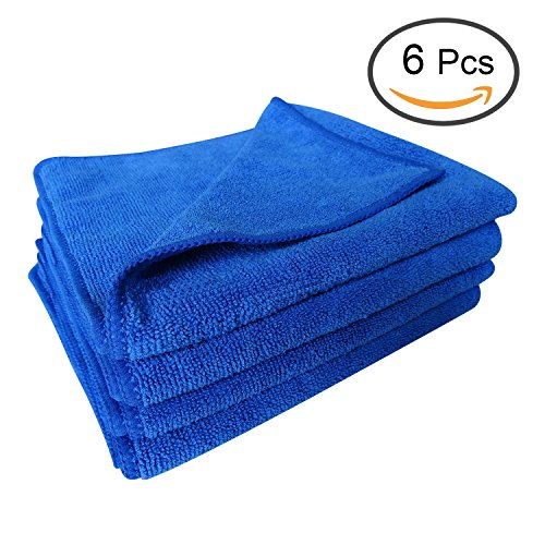 zeltauto-quick-dry-microfiber-towels-cleaning-cloth-anti-scratch-car-detailing-care-towels-blue-pack
