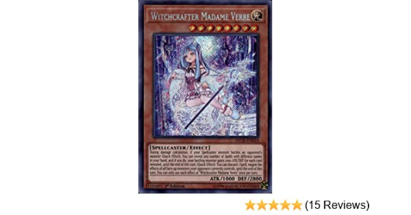 Witchcrafter Madame Verre Secret Rare INCH-EN019 LP 1st Edition