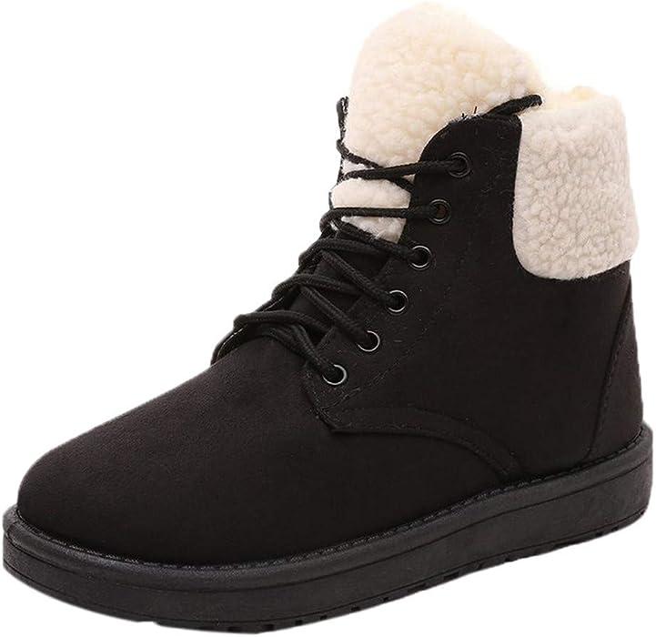 af1362d26364d Amazon.com: Memela Clearance Sale!!Women's Winter Snow Boots Fur ...