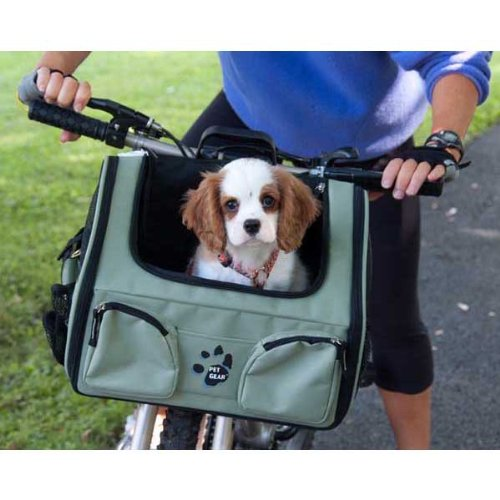 Pet Gear 3-In-1 Carrier/Airline/Car/Bike Basket