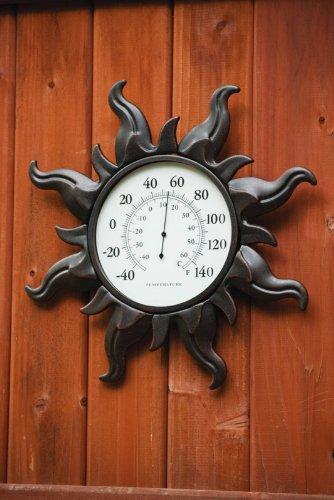 UPC 746851530678, Evergreen Enterprises 48871 Metal Sunburst Metal Thermometer