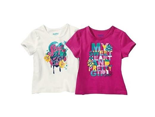 8bbf30337 lupilu Girls T-Shirts: Amazon.co.uk: Clothing