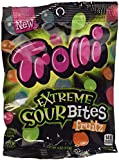 Trolli Extreme Sour Bites Fruitz 4 oz each (pack of 12) Fearsome 4 flavors