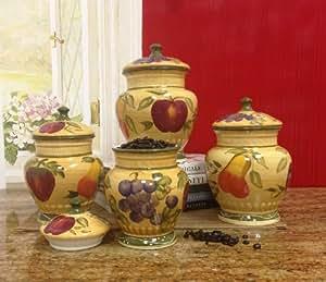 Amazon Com European Style Tuscan Fruit Grape Kitchen 4