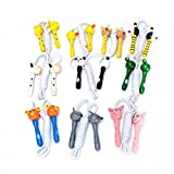 Creative Cute Skipping Rope Children's Toy Wooden Handle Jumping Game Fitness Build Random Handle Style Award Christmas Halloween Gift¡¡White rope¡¡