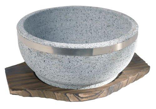 Spiceberry Home Granite Stone Dolsot Bibimbap Bowls Case