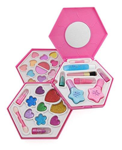 Petite Girls Hexagon Shaped Cosmetics