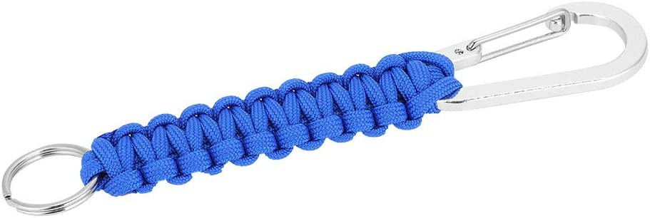 Parachute Cord Self-protection Lanyard Survival Tool Key Chain Ring Paracord