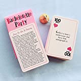 Truth Or Dare Game Cards For Bachelorette Bridal Hen Party Night Out Wedding Game Cards
