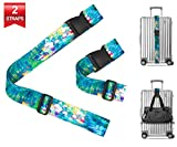 Claude Monet Water Lilies VI Travel Luggage Strap Suitcase Security Belt. Heavy Duty