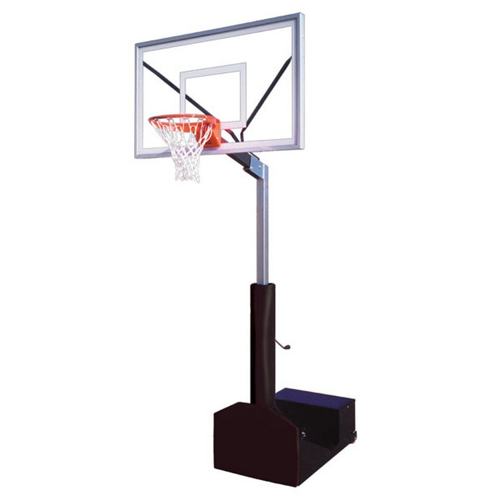 Amazon.com   First Team Rampage Select Portable Basketball Hoop with 60  Inch Acrylic Backboard Color  Red   Sports   Outdoors 7c3ea8e50