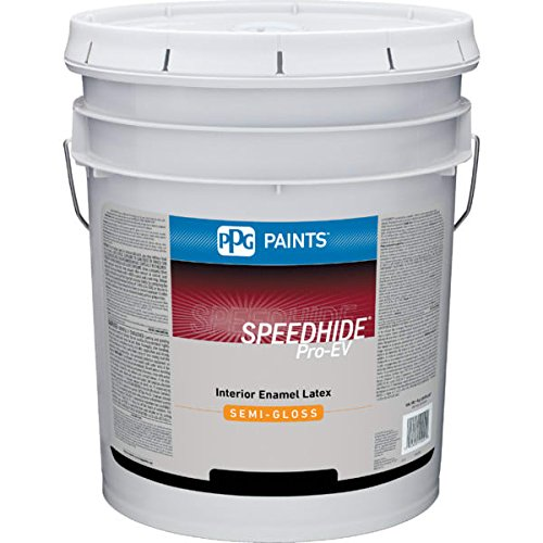 Glidden 5 Gallon ProMaster Interior Latex Semi-Gloss Wall Paint Antique White Formulated For Spray, Brush And Roller Applications - Excellent Hide - Quick Drying And Recoat - Excellent Touch-Up Properties - Voc Latex