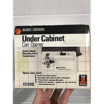 Amazon.com: Black & Decker Space Saver Under Cabinet Electric Can ...