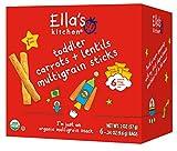 Ella's Kitchen Organic Multigrain Sticks, Carrots and Lentils, 6 ct