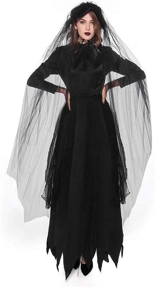 VVcostumes Disfraz de Novia Zombie de Halloween Fantasma cadáver ...