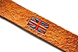 Handmade Leather Bookmark | British Flag