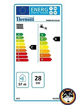 Caldera combinada Gas Calentador Potencia Mona CXE.AA 28 Kw Agua + Calefacción Intercambio Vaillant propano Gas: Amazon.es: Bricolaje y herramientas